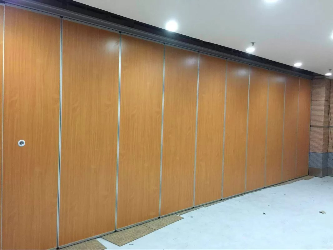 Multi Color Acoustic Room Dividers Commercial Furniture Sliding Folding Partition Walls