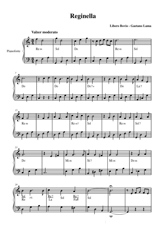 Reginella-per-pianoforte-versione-semplice-con-sigle-degli-accordi-in-italiano-1