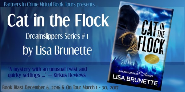 Cat in the Flock by Lisa Brunette Tour banner
