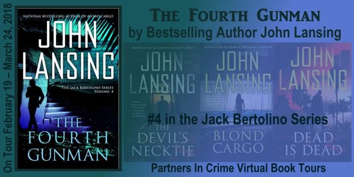 The Fourth Gunman by John Lansing Tour Banner