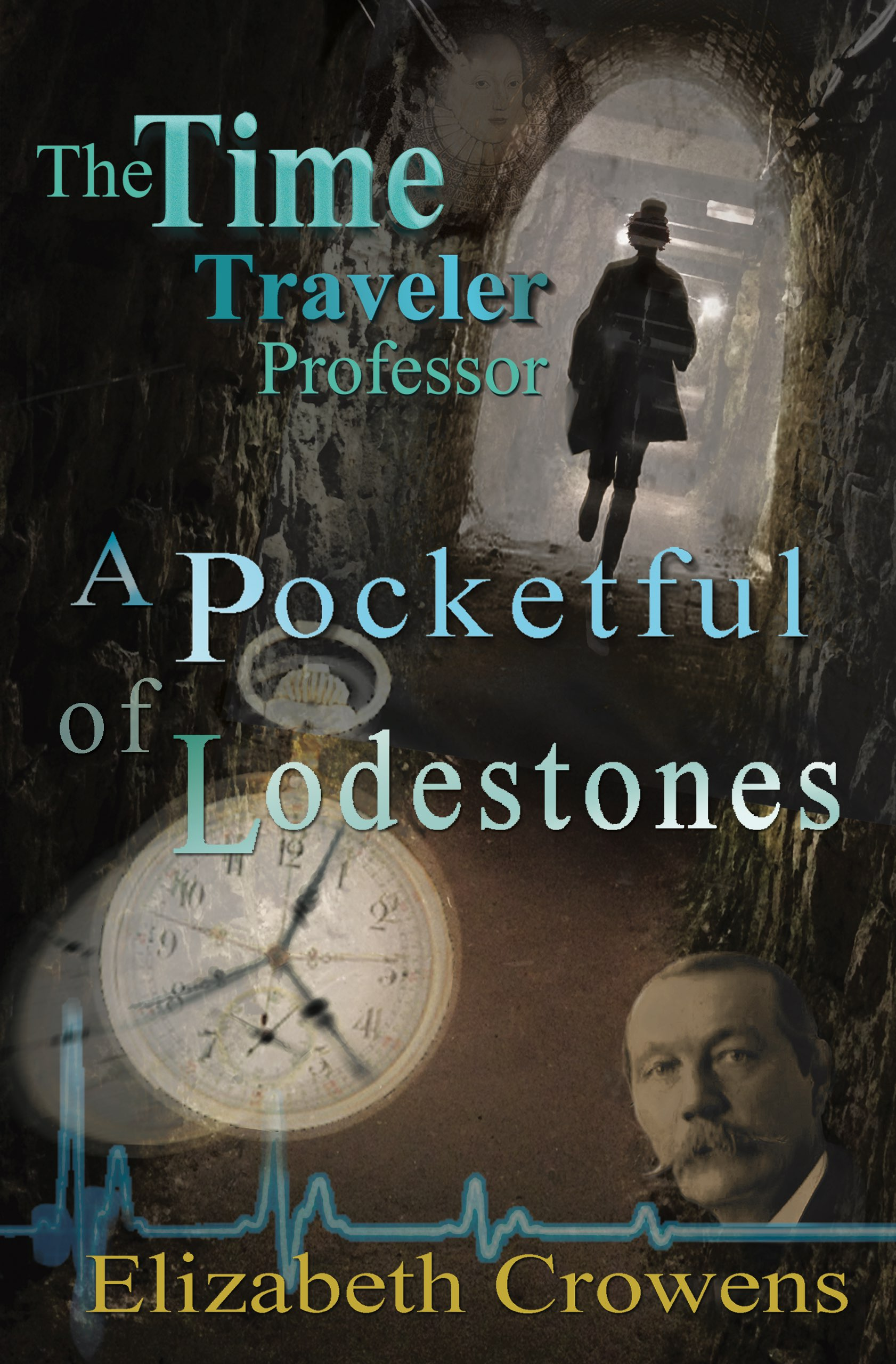 The Time Traveler Professor, Book Two: A Pocketful of Lodestones by Elizabeth Crowens