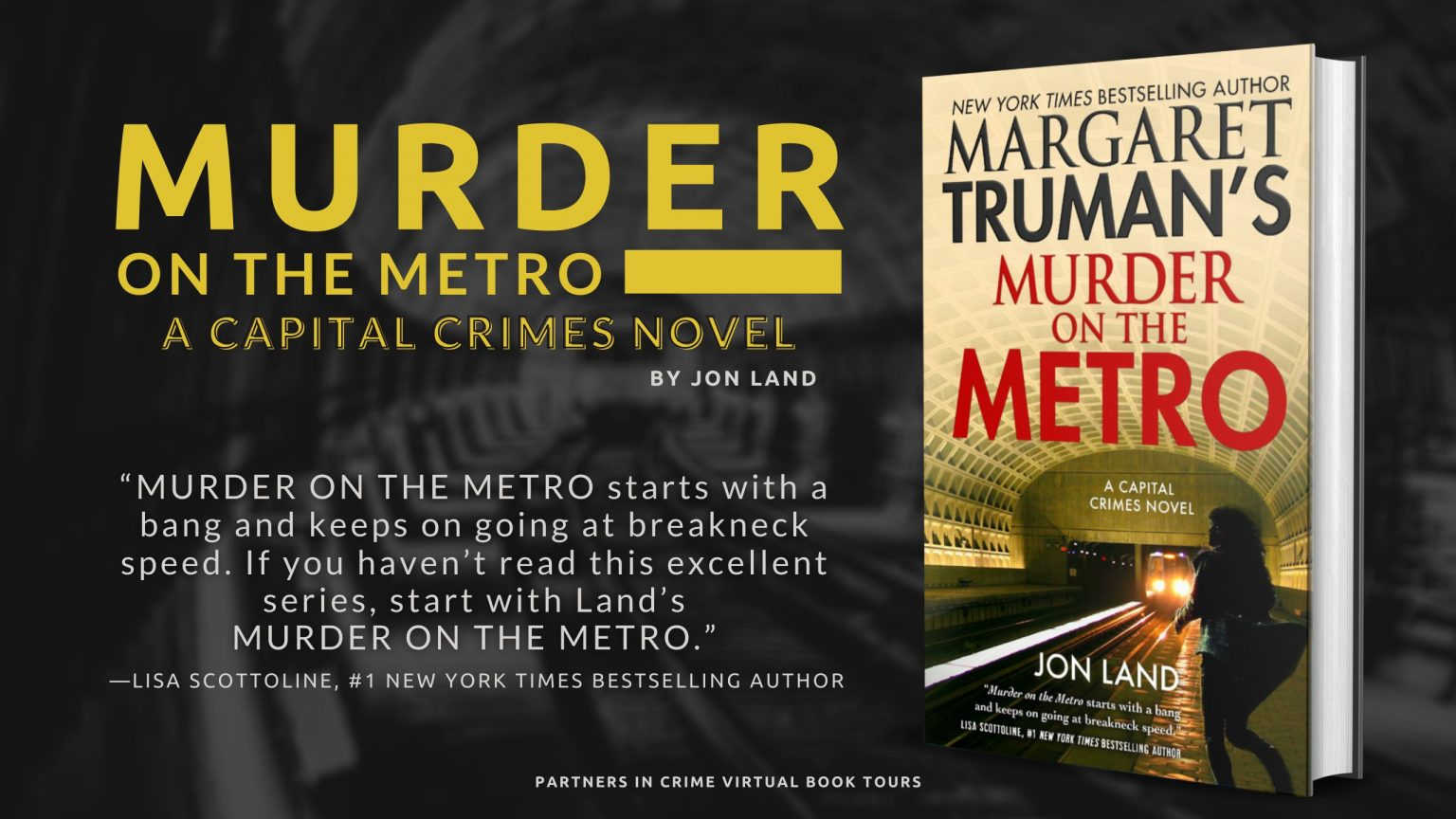 Murder On The Metro Banner