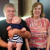 Charles and Susan and our grandson Cam.