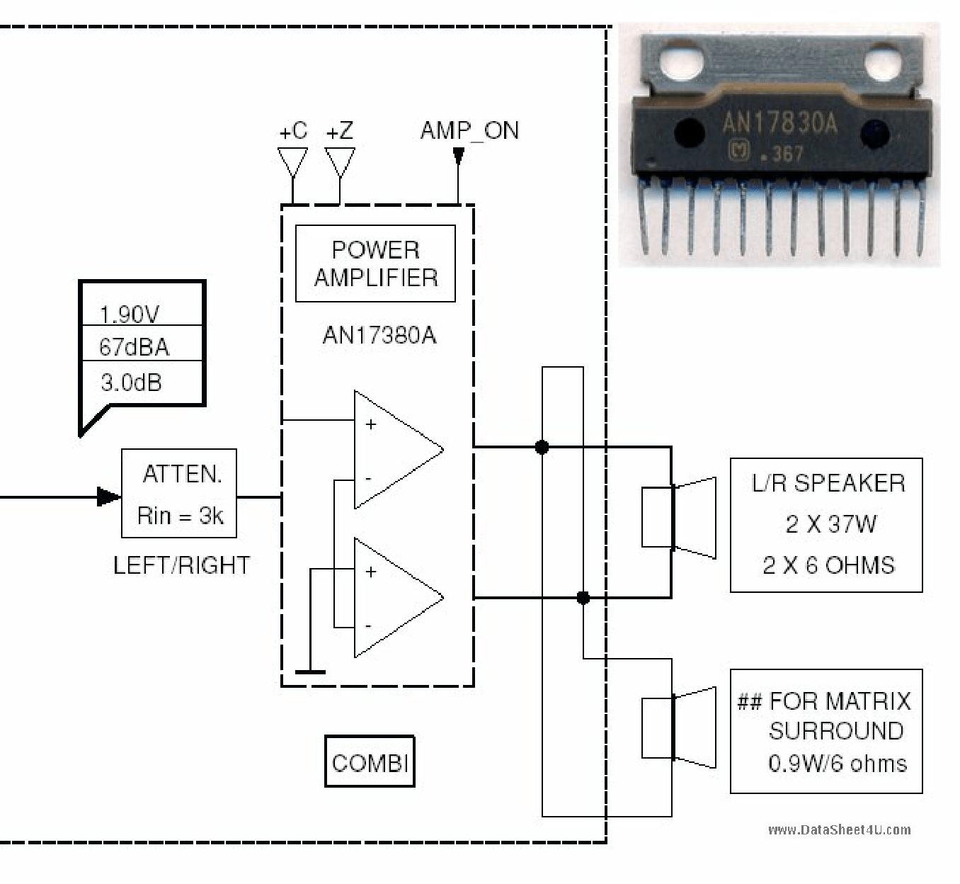 An A Datasheet Pinout