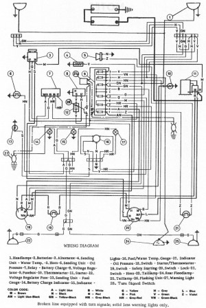 Oliver 60 Tractor Wiring Diagram