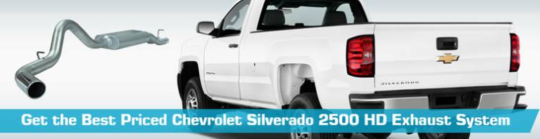 chevrolet silverado 2500 hd exhaust