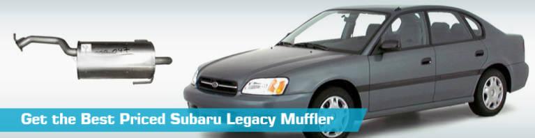 subaru legacy muffler mufflers
