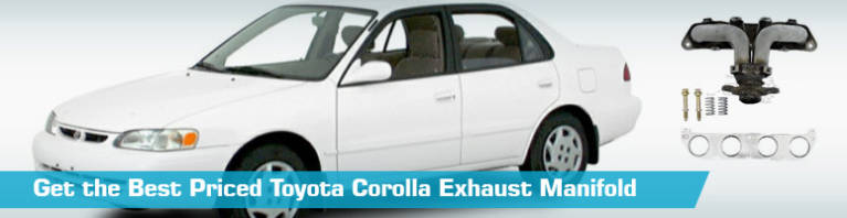 toyota corolla exhaust manifold