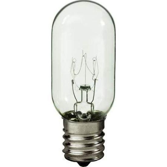 microwave oven lamp light bulb 40 watt 130v intermediate base part 26qbp0936