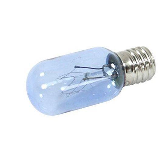 frigidaire electrolux westinghouse kelvinator gibson sears kenmore appliance light blue lamp light bulb 25w 120v intermediate base part 297048600