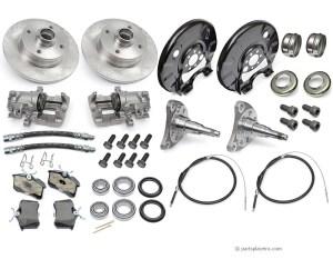 VW MK1 Rear Brake Disc Conversion Kit  Free Tech Help