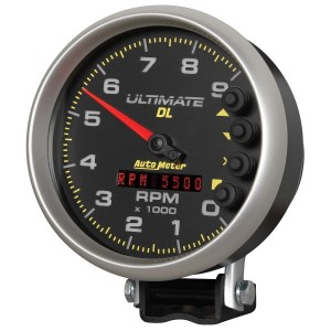 Auto Meter (6896): 5″ Ultimate DL 9,000 RPM Tach