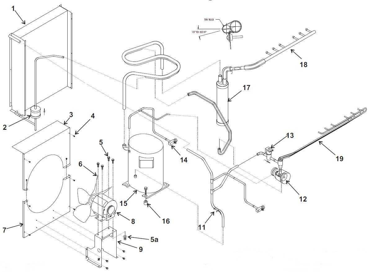 Ice Maker Parts Diagram