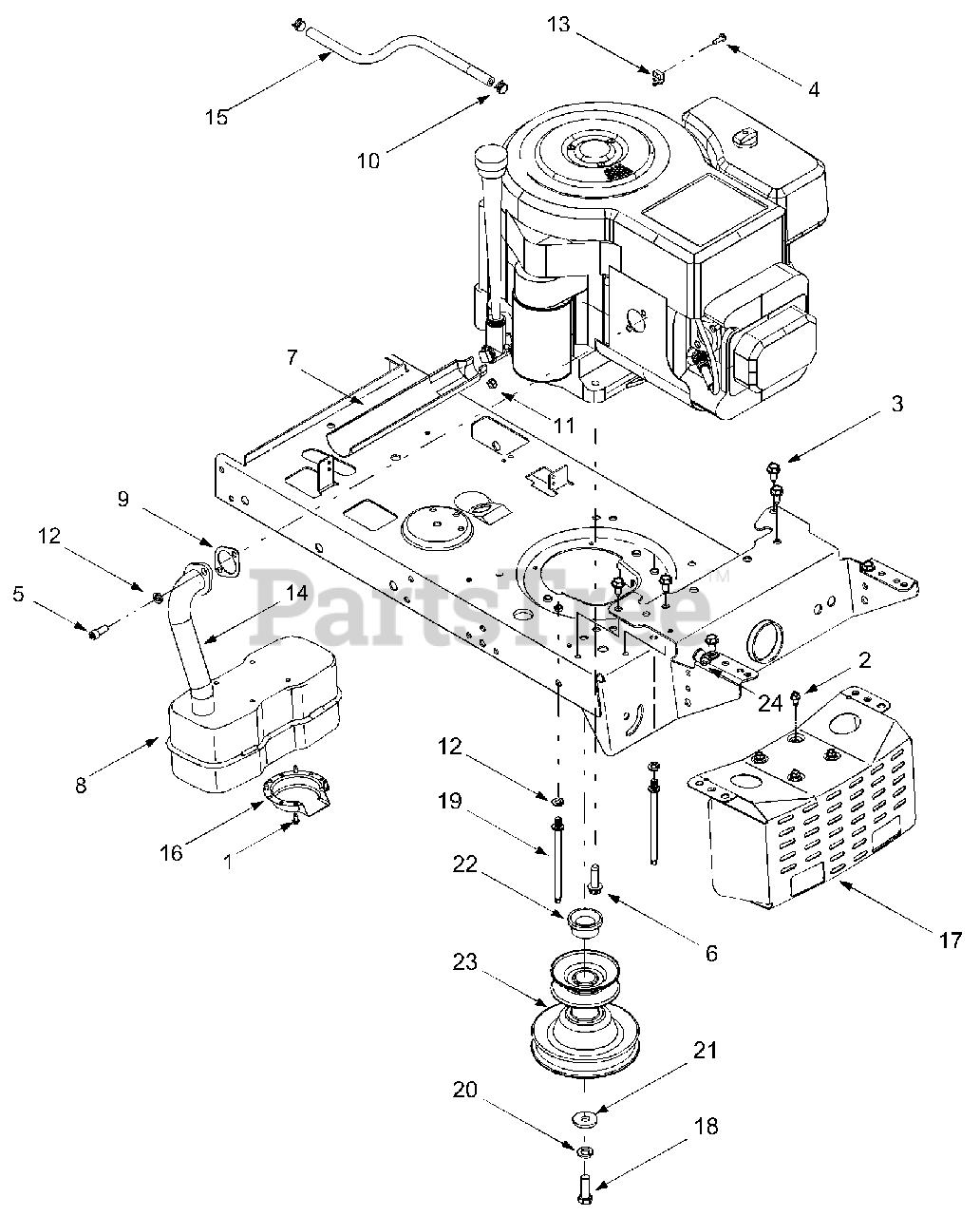 Yard Machines 13aj693g755