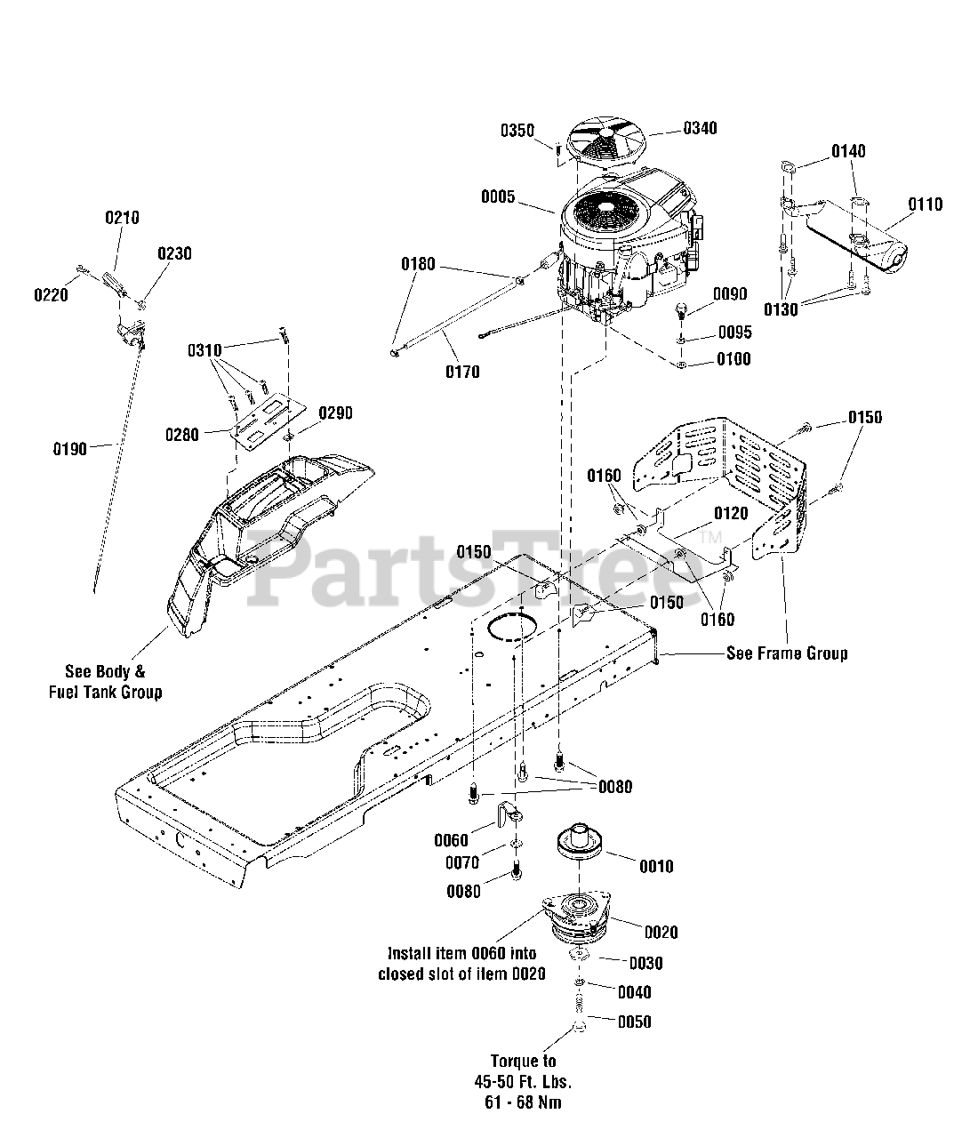 Simplicity Parts On The Engine Group Diagram For