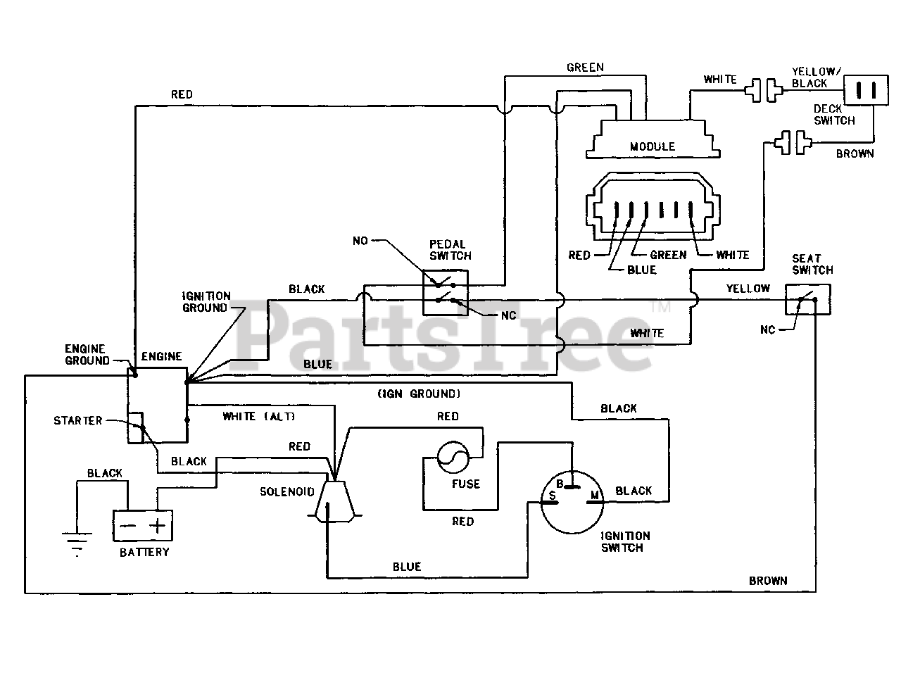 Wiring Diagram Snapper Rider