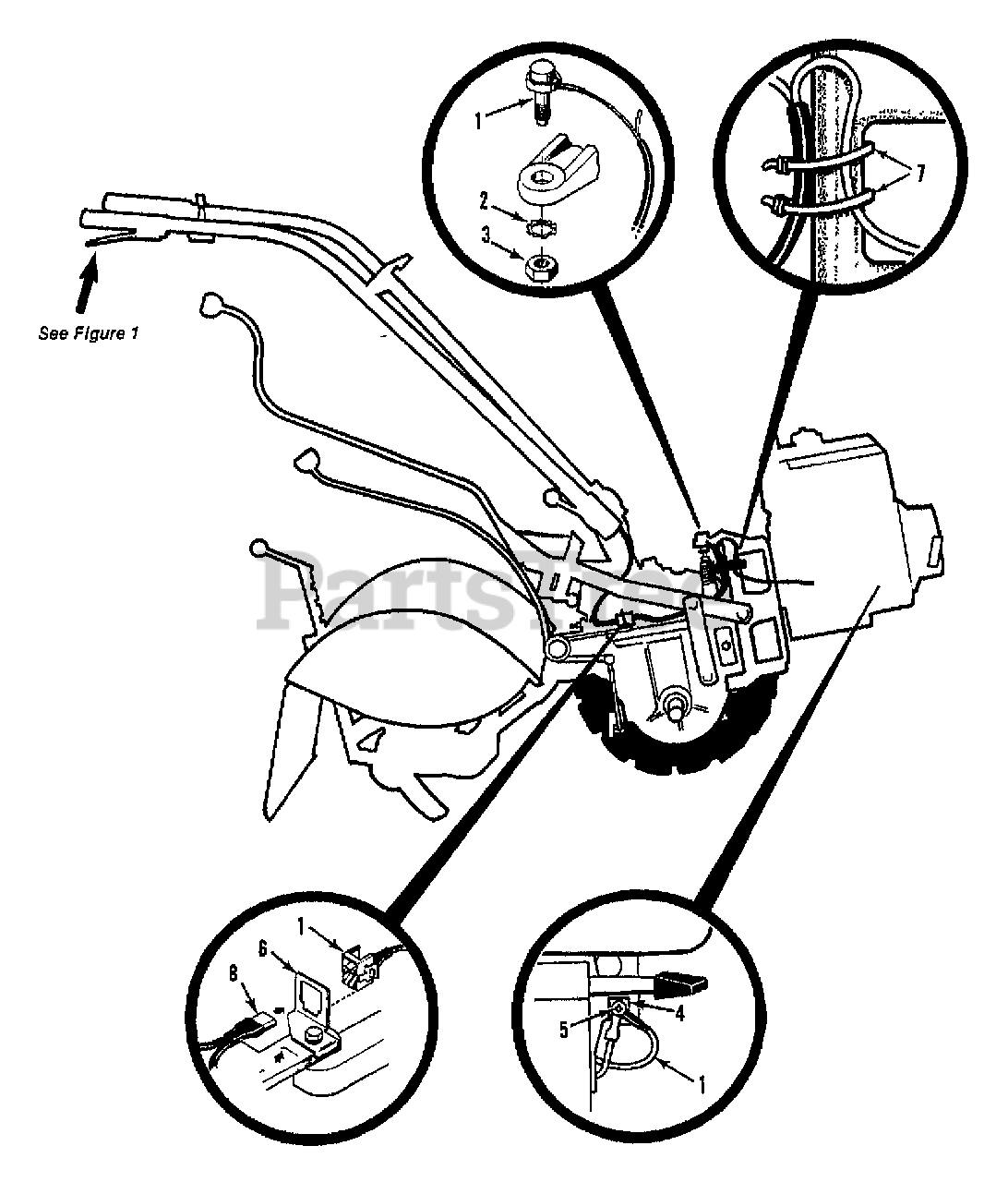 Troy Bilt Parts On The Forward Interlock System Diagram