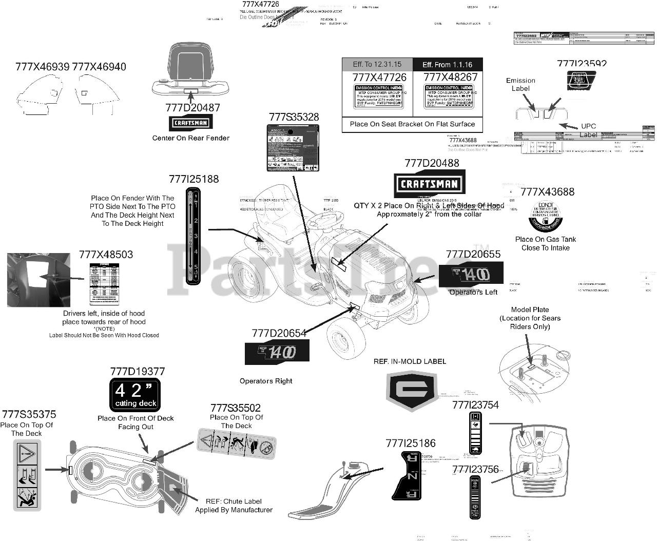 Craftsman 247 13ad78xs099