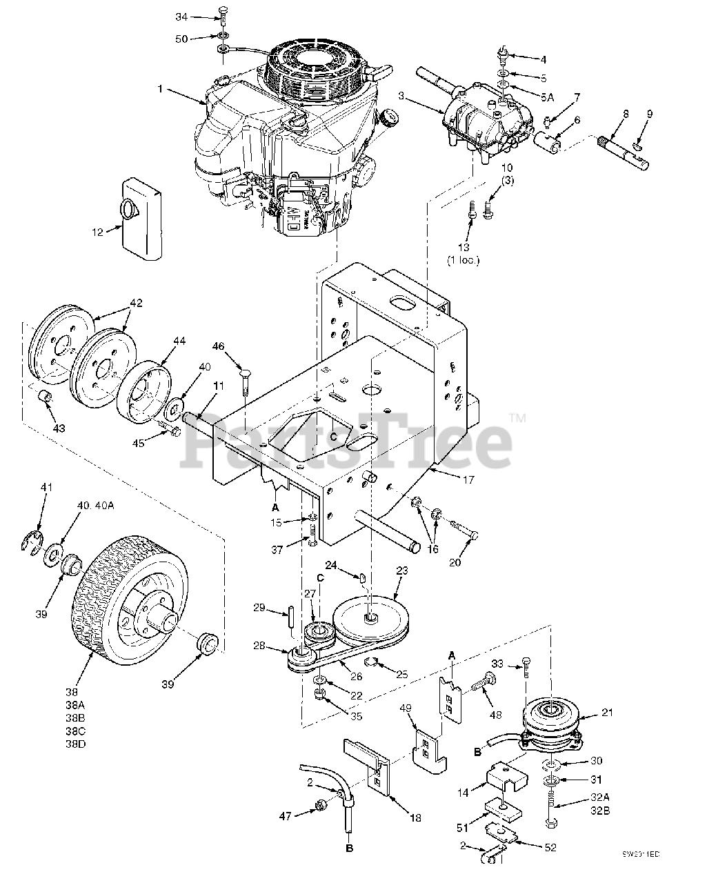 Scag Sw32 16fs