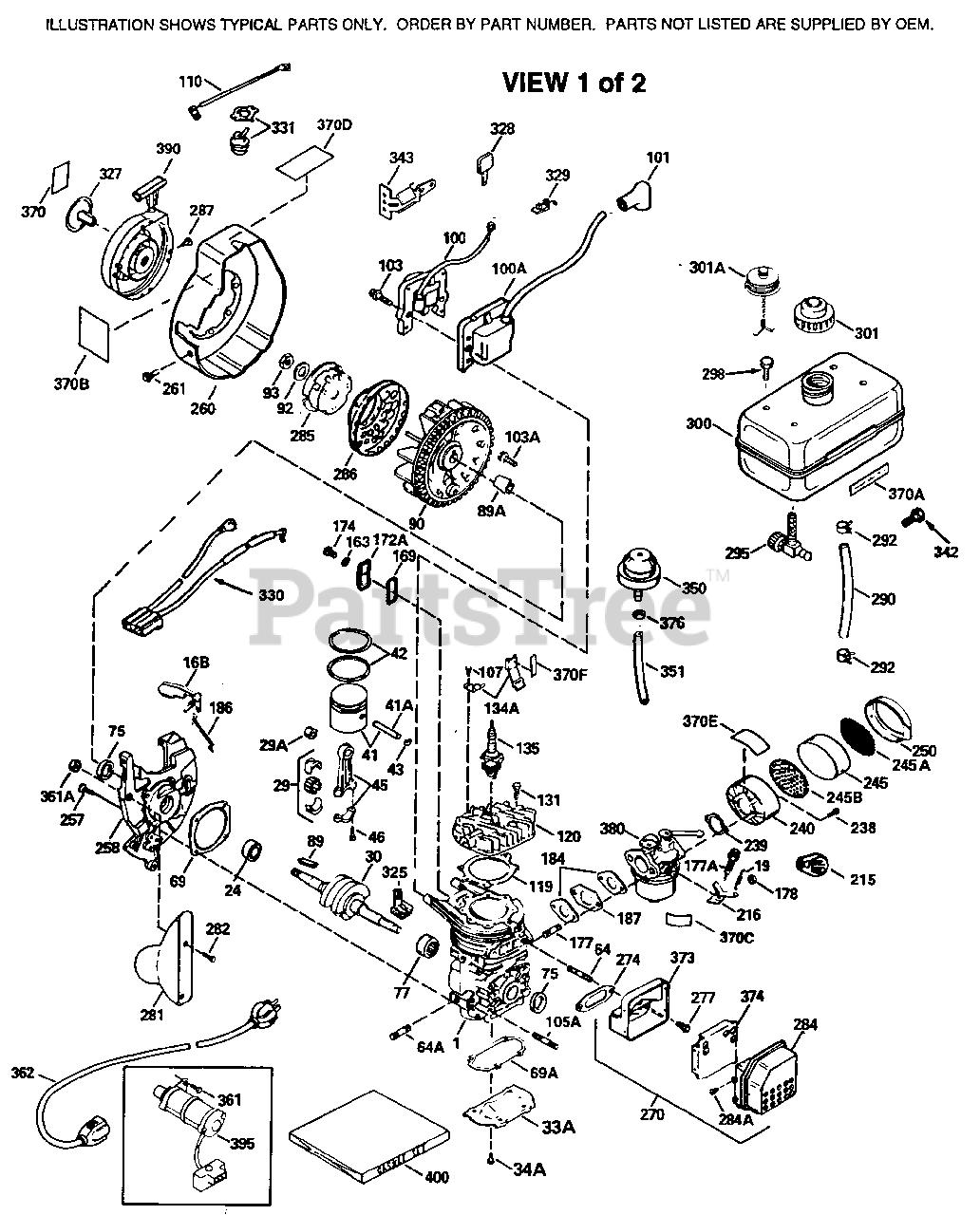 Tecumseh Hsk600 S