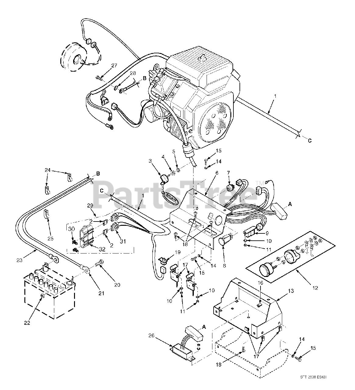 Scag Stt52v 27ch