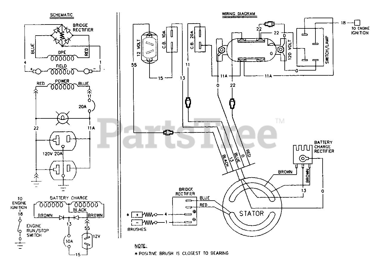 Wiring Diagram For Craftsman Generator