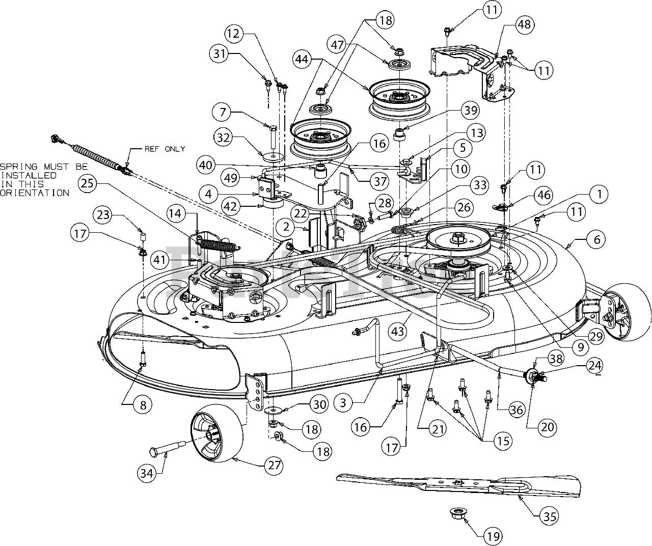 Yard Machines 13b S000