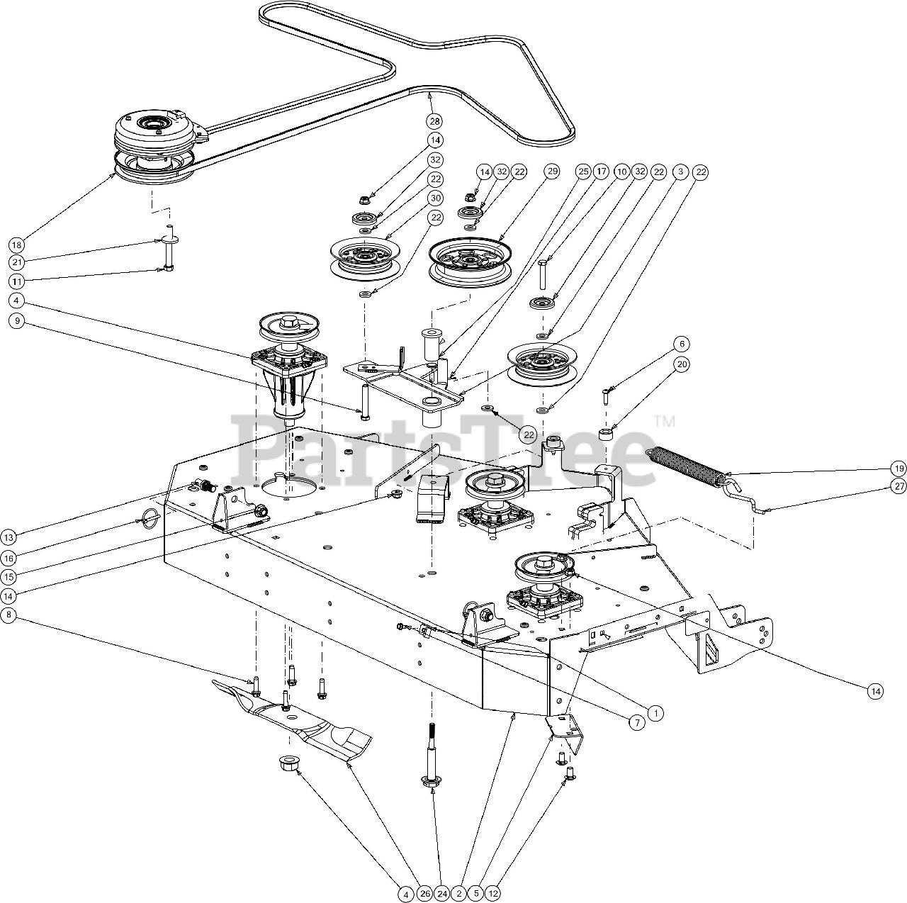 Cub Cadet Z Force L48 Fab 17dsdalb010