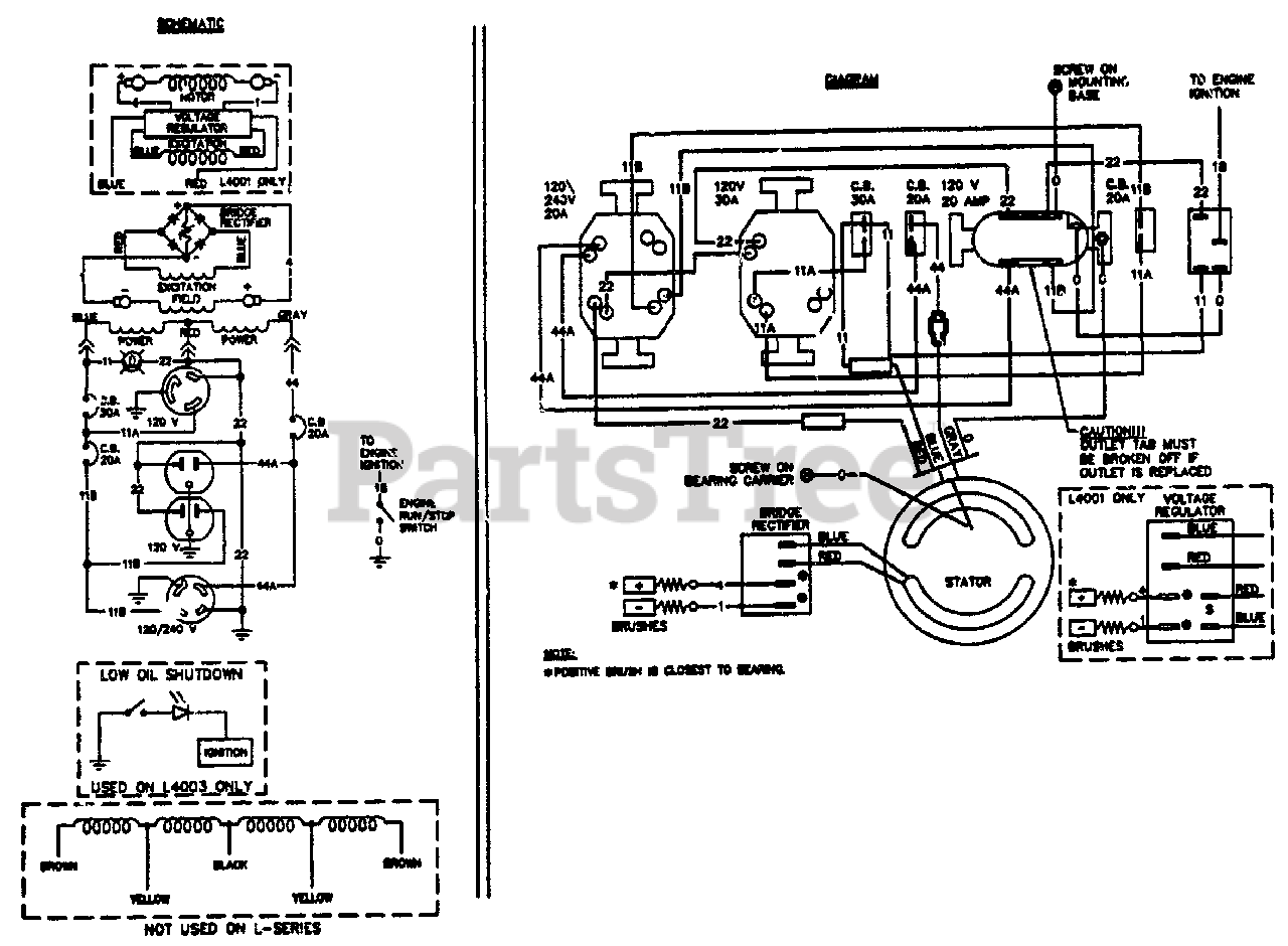 Wiring Diagram Generac Xl