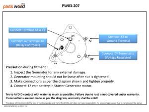 Cheap Starter Generator for Club Car DS series, FE350 FE290  Wiring Diagram