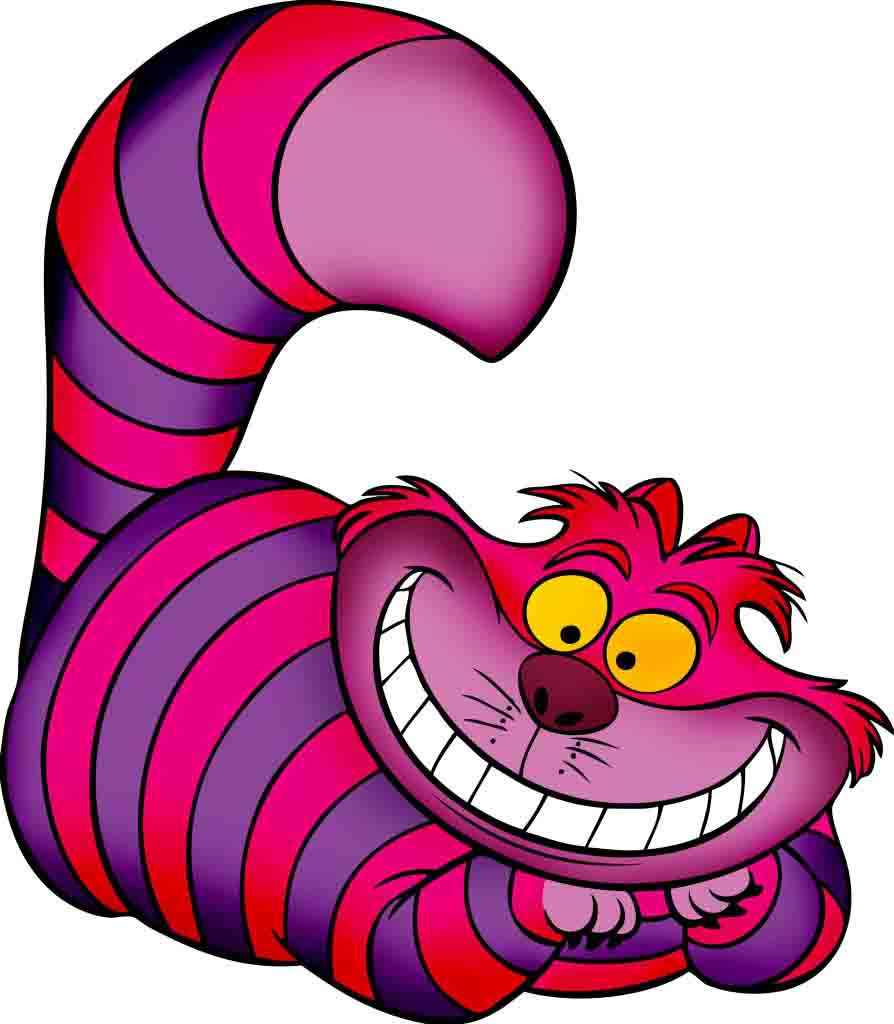 Alice Wonderland Cartoon Caterpillar Face