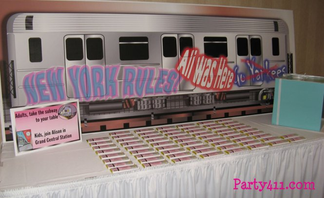 Newyork Subwaycake Subway Planning Ideas Decorations Party Supplies