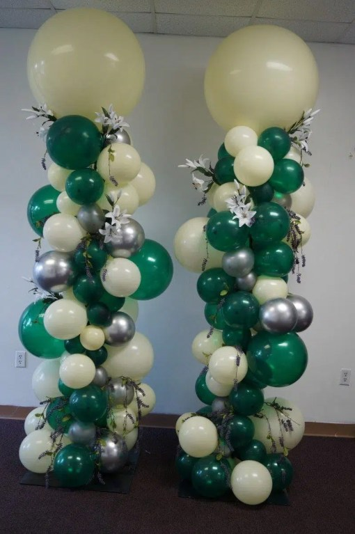Organic Balloon Columns