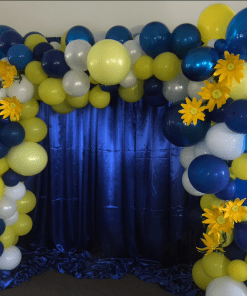ORGANIC SQUARE BALLOON ARCH