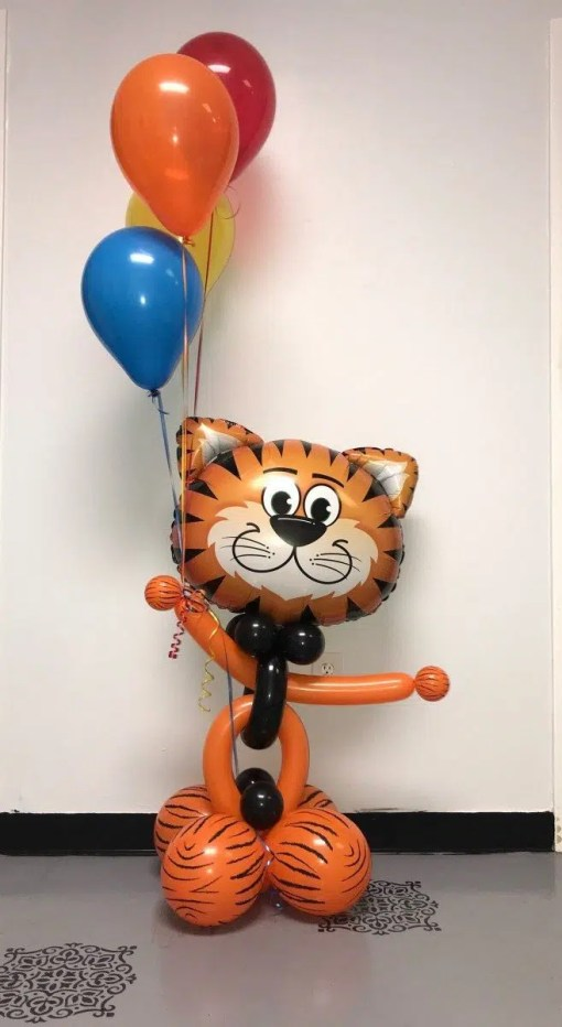 tickled tiger balloon
