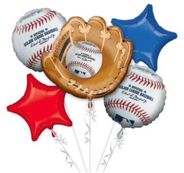 Baseball Mitt Bouquet
