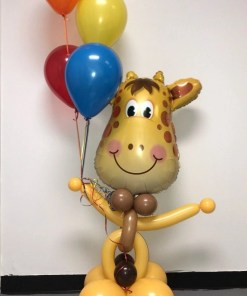 Jolly Giraffe Animal Balloon