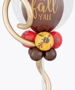 Fall Balloon Table Centerpiece