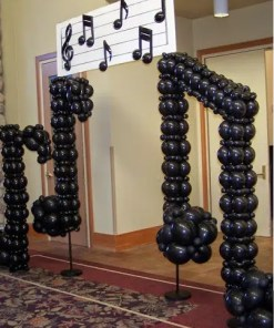 Music notes Sculpture