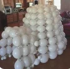 Igloo Balloon Sculpture