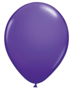Purple Violet Latex Balloon