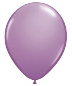 Lavender Latex Balloon