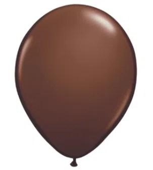 Chocolate Brown Latex Balloon