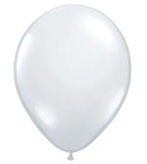 Diamond Clear Latex Balloon