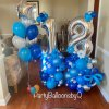 PARTY BALLOONSBYQ BFCA97CA-CA14-44C4-84B0-F354E8A406AA_1_201_a Red & White Heart Latex Balloon
