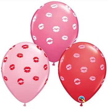 Kissy Lip Latex Balloon