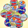 PARTY BALLOONSBYQ Congratulations-Mylar-Balloon-Bouquet Congratulations Balloon Bouquet