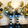 PARTY BALLOONSBYQ baby-shower-moons Baby Bottle Balloon Centerpiece