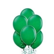 PARTY BALLOONSBYQ green-balloon-bouquet Balloon Delivery  Wake Forest