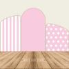 chiara backdrop pink dots /stripes